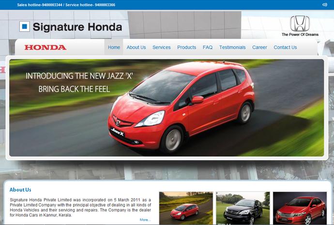 Signature Honda