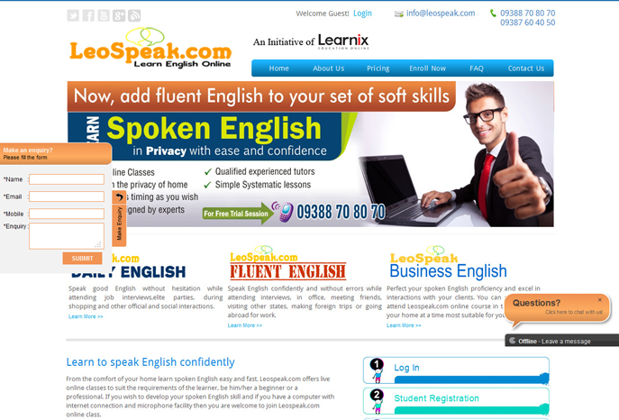 Leospeak Learn English Online