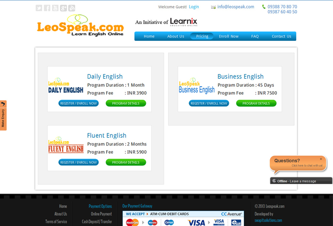 Leospeak Learn English Online