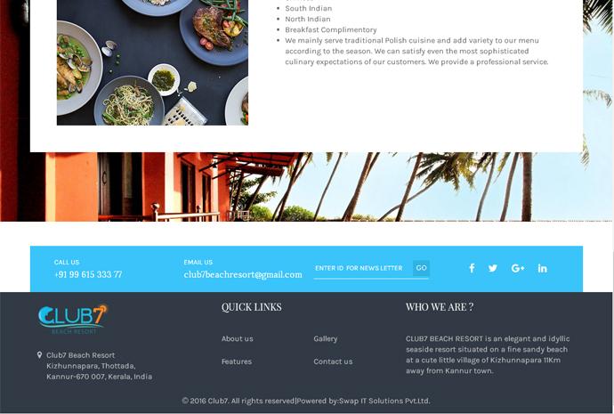 Club7 Beach Resort