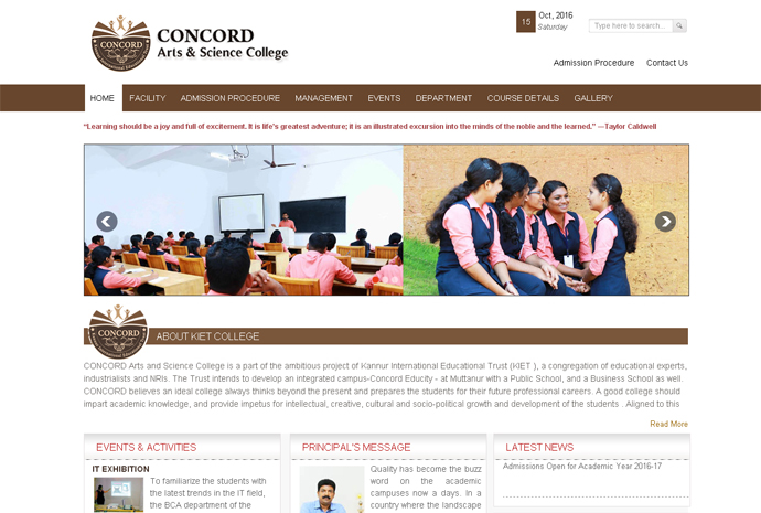 CONCORD Arts and Science College