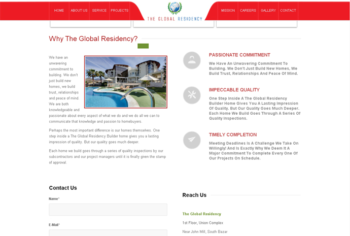 The global residency