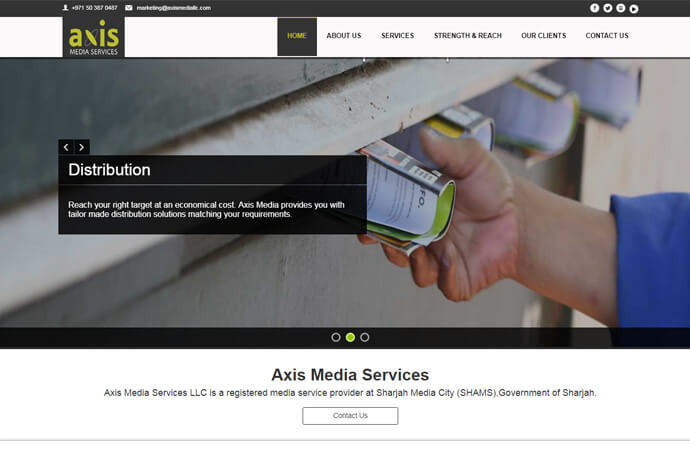 Axis Media Services LLC