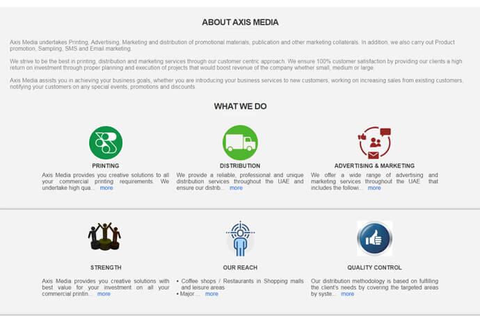 Axis Media Services LLC